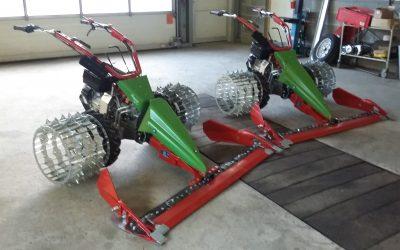 Rapid Swiss completa con ruote in ferro